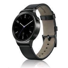 huawei watch black?leather