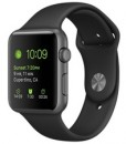apple iwatch 42mm black sport