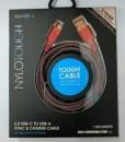 energea nylotough usb 2.0 usb-c to usb-a cable