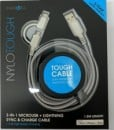 energea nylo tough 2-in1 microusb+lightning