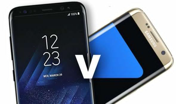 differences between galaxy s8 and s7