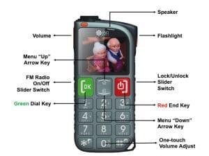 3g phone for the elderly