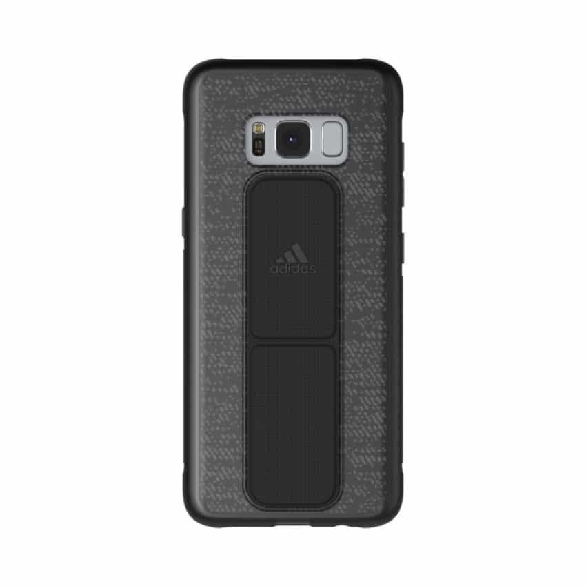 newest e1188 e3622 Sports Grip Case Samsung Galaxy S8 Plus – Black (Back Cover)
