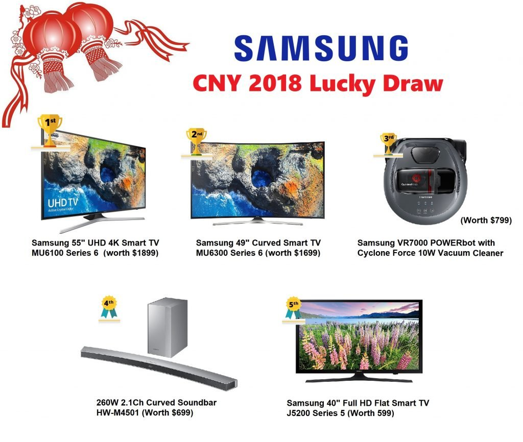 samsung 2018 lucky draw