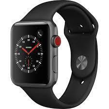 apple watch 3 black sport band