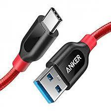 anker powerline+ usb-c to usb-a 3.0 3ft
