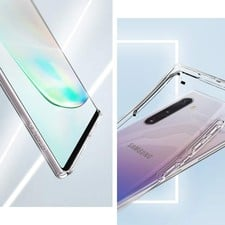 spigen note 10 liquid crystal 2019