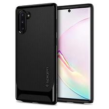 spigen note 10 neo hybrid shiny black