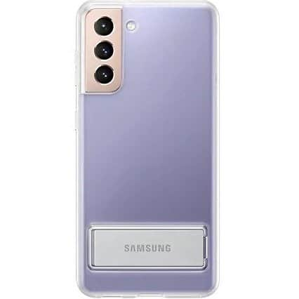 Samsung S21 plus clear standing cover